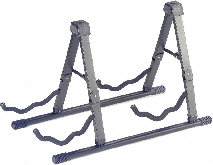SG-A008/2 BK Double guitar stand