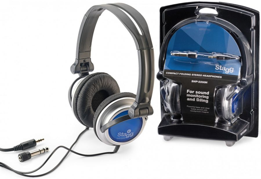 SHP-2200H Stereo headphones for Sound Monitoring and DJ