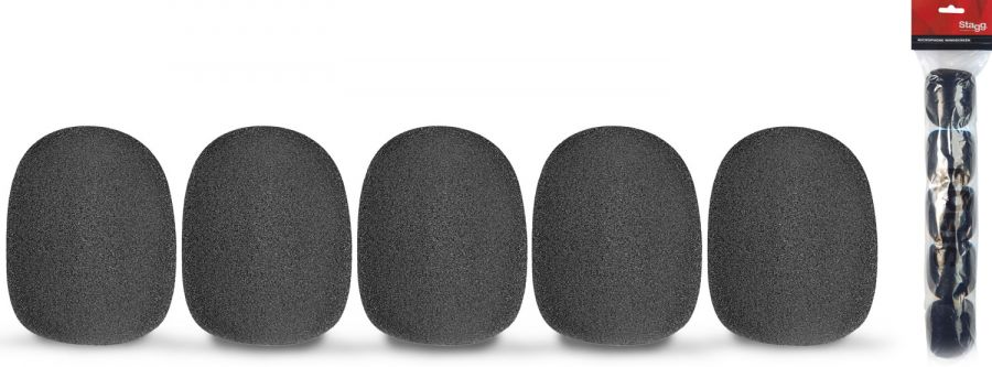 Foam Windshields For Vocal Microphones (SM58 Type)