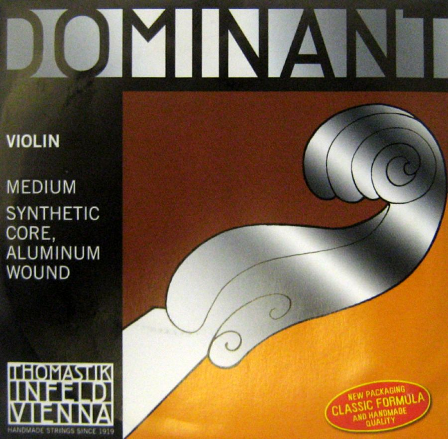 Dominant A (2nd) String for Three Quarter (¾) and Full (4/4) Size Violin