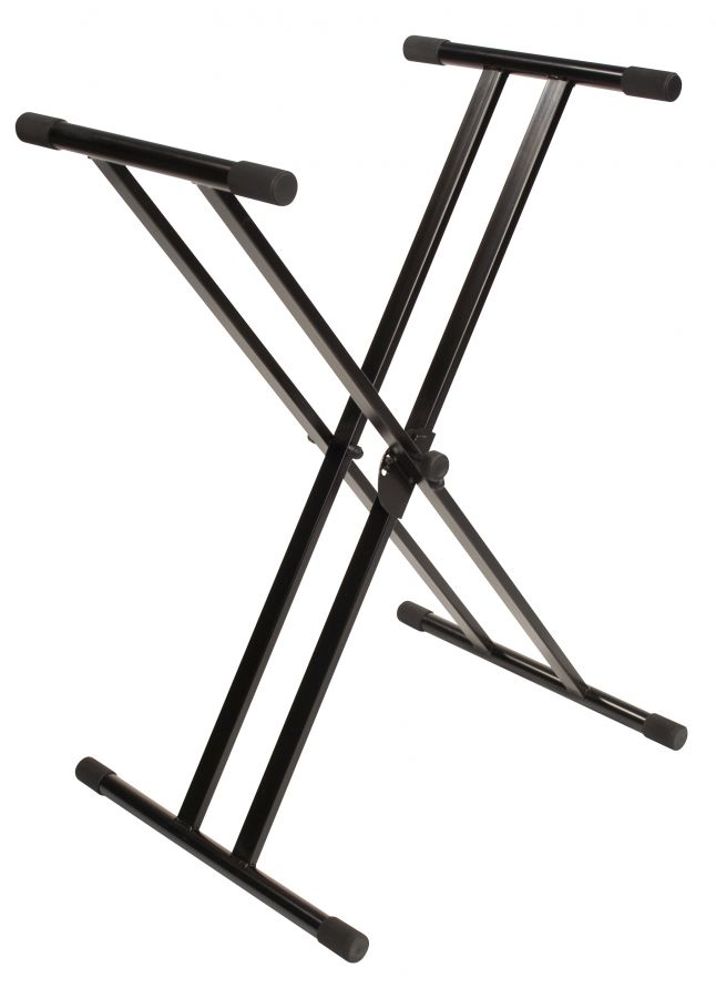 Jamstands JS502D Double Brace X-Style Keyboard Stand