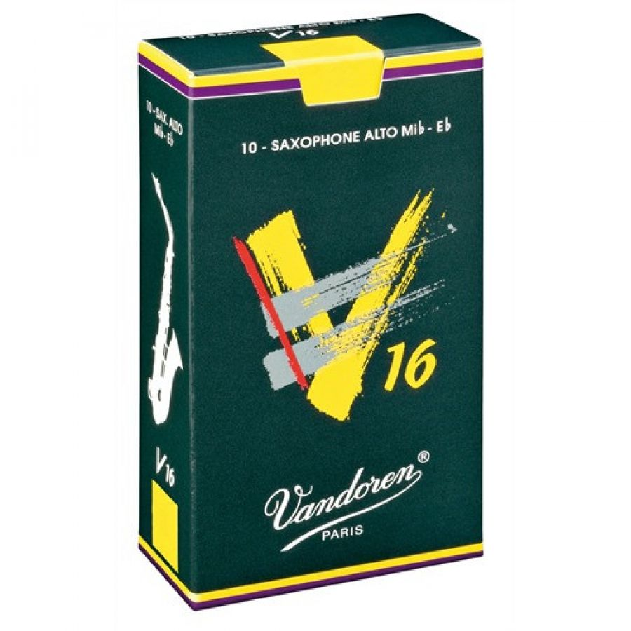 V16 Size 4 Reeds for Eb Alto Saxophone (Box of 10)