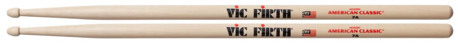 7A American Classic Wood-Tipped Drum Sticks