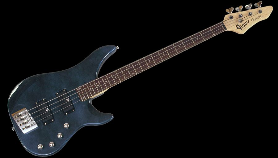 Excess 4 String Bass in Urban Blue