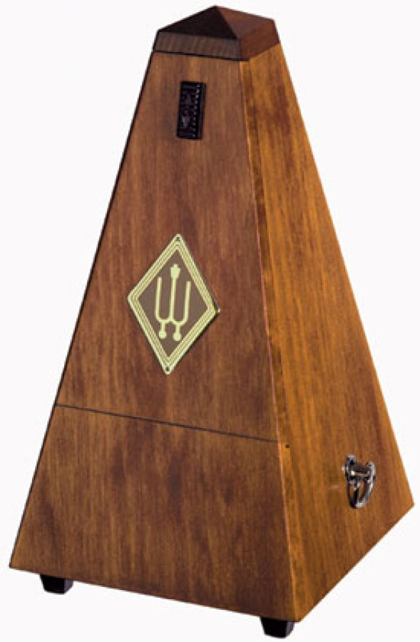 814M Metronome with Bell in Matte Walnut