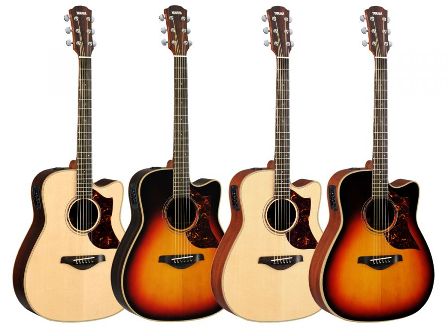 yamaha a3m and a3r electro acoustic guitars various colours finishes available yamaha music. Black Bedroom Furniture Sets. Home Design Ideas