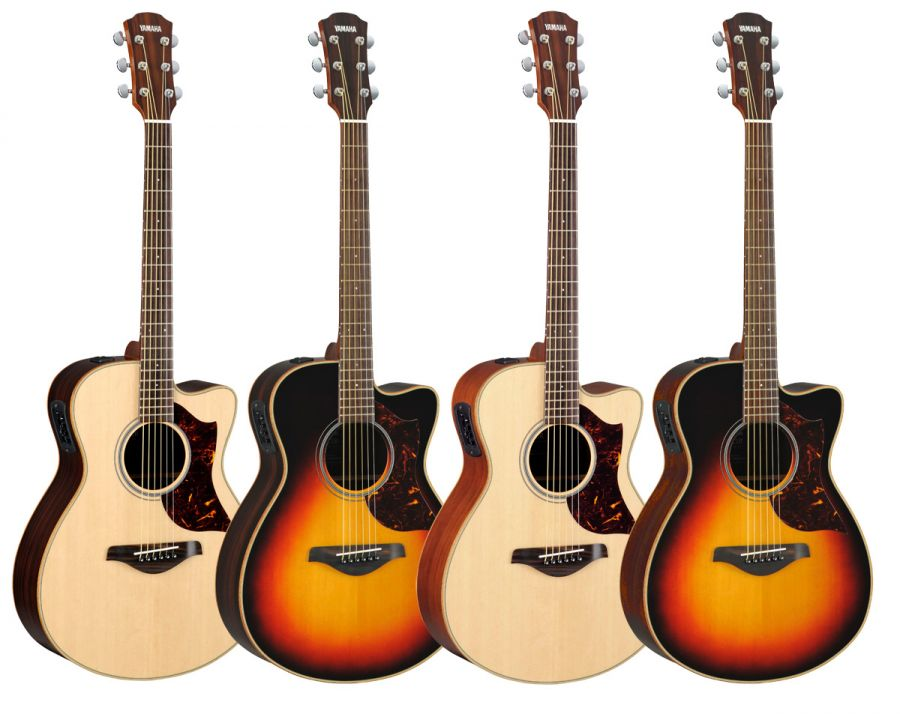 AC1M and AC1R Electro-Acoustic Concert Guitars