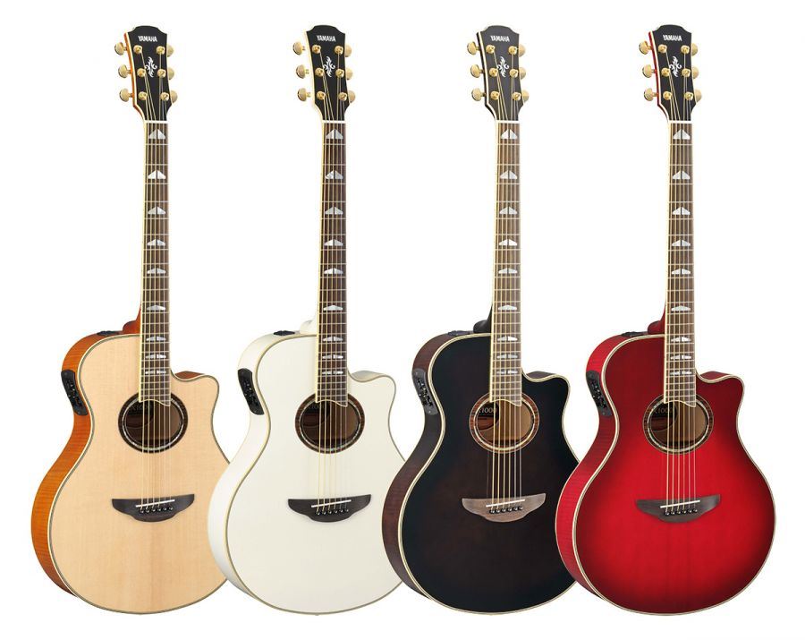 Yamaha apx1000 electro acoustic guitar various colours for Apx guitar yamaha