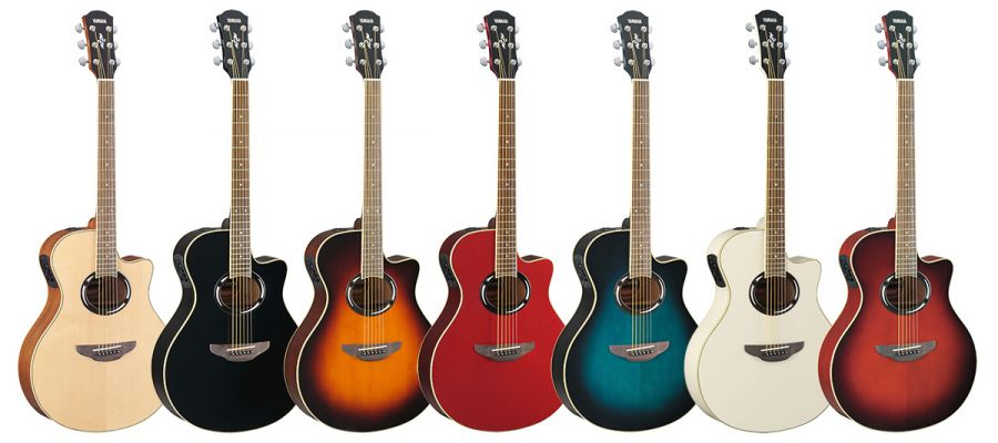 yamaha apx500ii electro acoustic guitar various colours. Black Bedroom Furniture Sets. Home Design Ideas