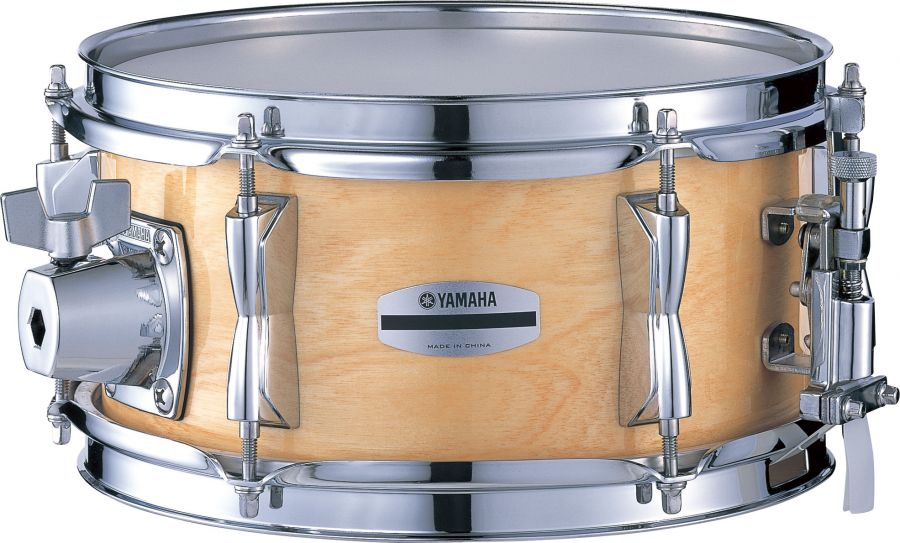 yamaha bsd1050 nw stage custom 10x5 inch snare drum birch stage custom series in natural wood. Black Bedroom Furniture Sets. Home Design Ideas