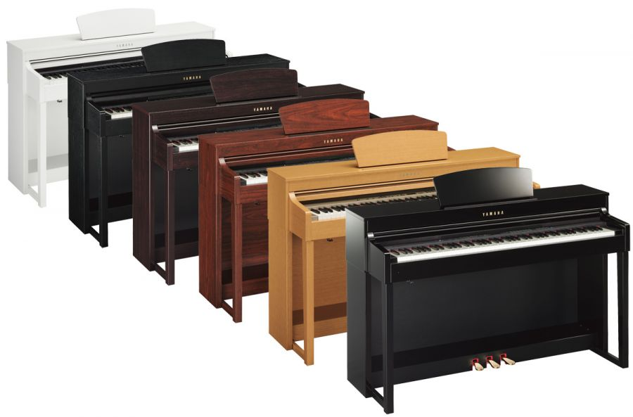yamaha clp 430 clavinova digital piano various colours and. Black Bedroom Furniture Sets. Home Design Ideas