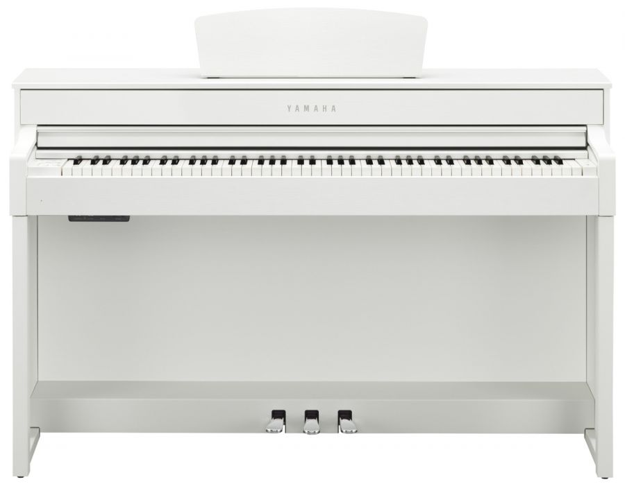 yamaha clp 535 clavinova digital piano in white satin finish yamaha music london. Black Bedroom Furniture Sets. Home Design Ideas