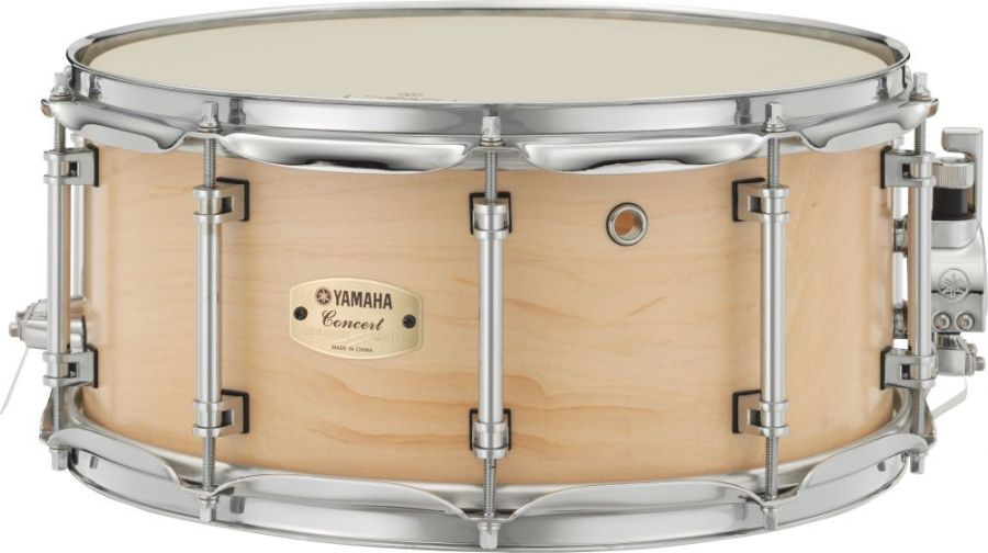 Yamaha csm 1465 aii 14x6 5 inch snare drum maple shell in for Yamaha stage custom steel snare drum 14x6 5