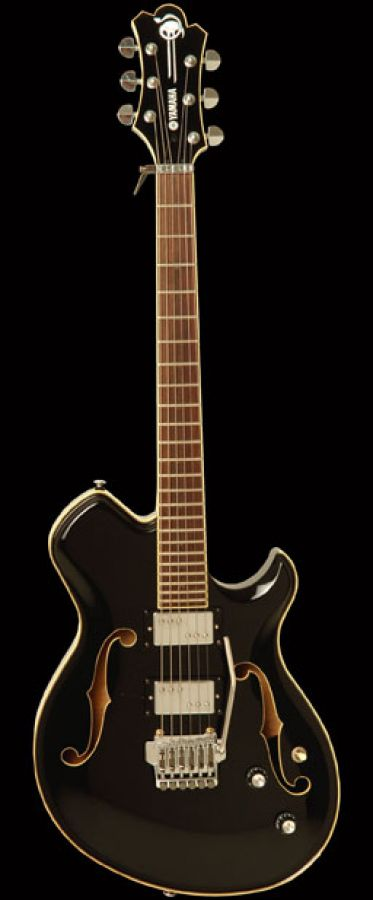 Yamaha CV820 Wes Borland Signature Semi-Acoustic Guitar in Black