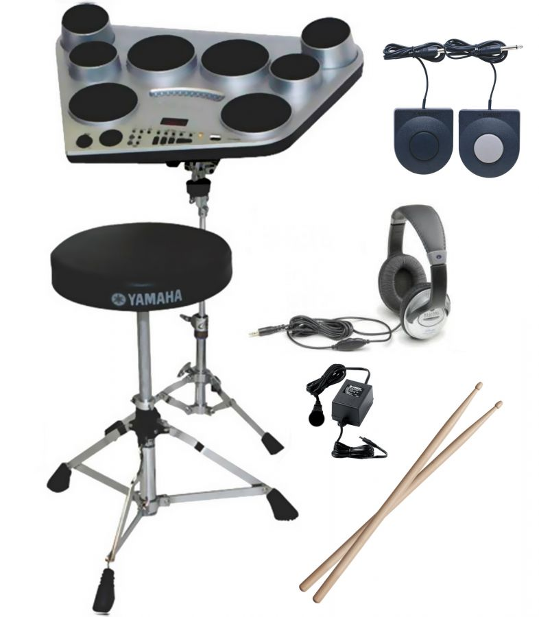 DD-65 Digital Drum Pad Starter Pack With Stand, Headphones & Power Adapter