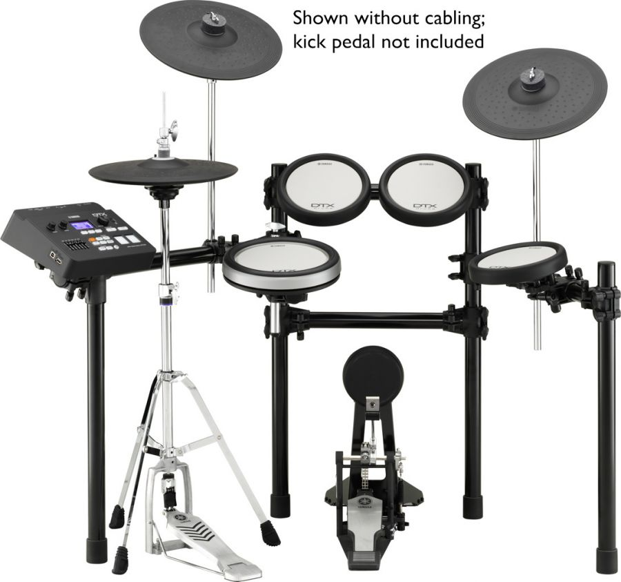 DTX700K Electronic Drum Kit with DTX-PAD Technology