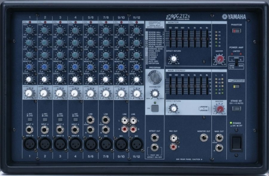 EMX212S Powered Mixer/PA Head
