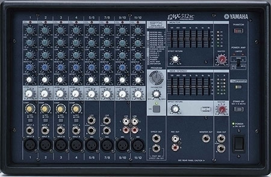 EMX512SC PA Powered Mixer