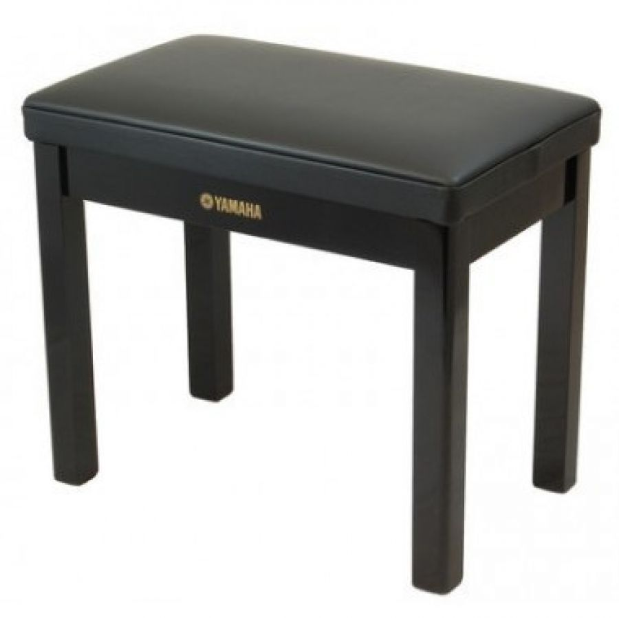 GTB Polished Ebony Piano Stool