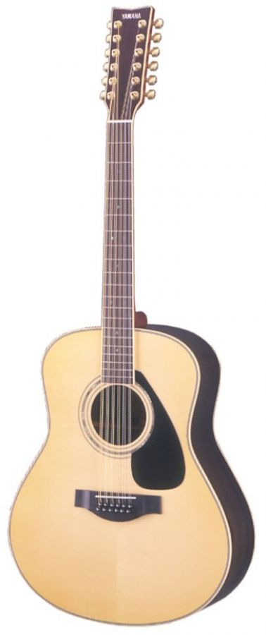 yamaha ll16 12 handcrafted 12 string acoustic guitar in natural finish with case yamaha music. Black Bedroom Furniture Sets. Home Design Ideas