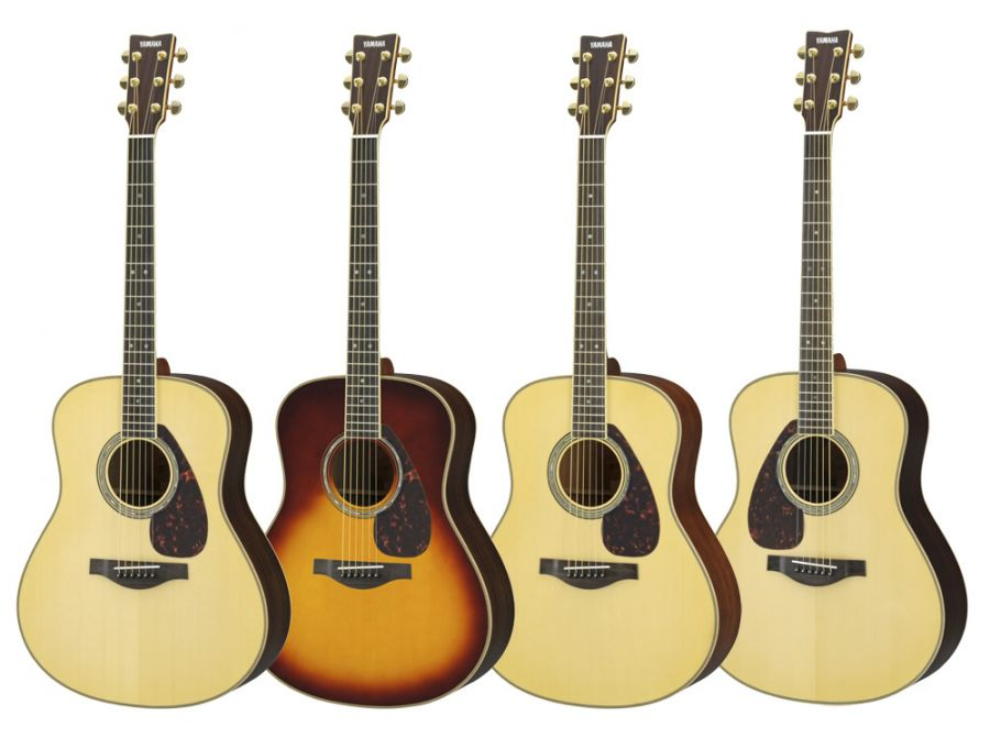 yamaha ll16 are acoustic guitar in various finishes with hard gigbag yamaha music london. Black Bedroom Furniture Sets. Home Design Ideas