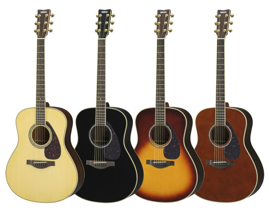 yamaha ll6 are acoustic guitar in various finishes with hard gigbag yamaha music london. Black Bedroom Furniture Sets. Home Design Ideas