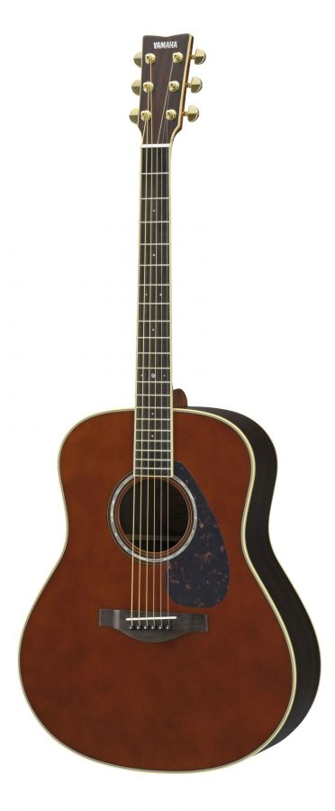 yamaha ll6 are acoustic guitar in dark tinted finish with hard gigbag yamaha music london. Black Bedroom Furniture Sets. Home Design Ideas