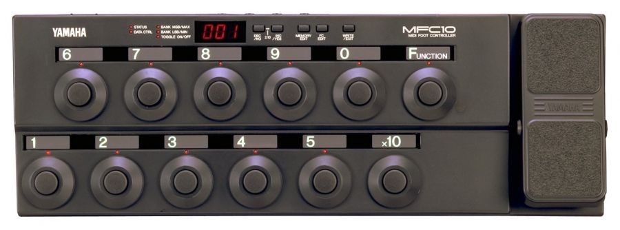 MFC10 MIDI Foot Controller Pedal