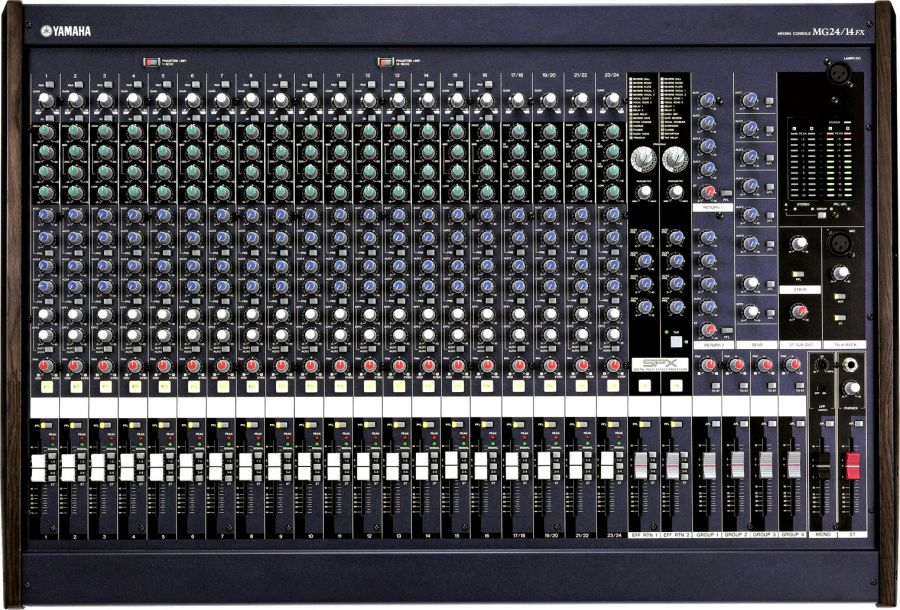 MG24/14FX 24 Channel Analogue Mixer