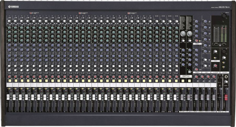 MG32/14FX 32 Channel Analogue Mixer