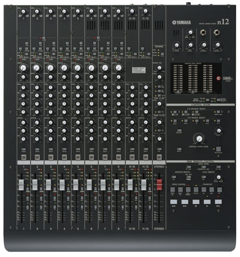 n12 Mixer with FireWire Multi-Channel Audio Interface