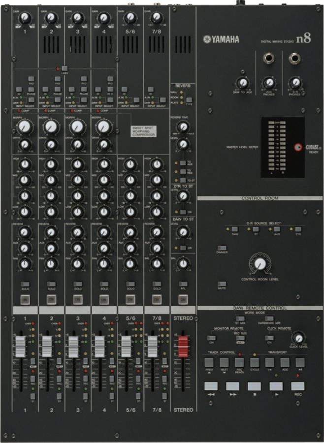 n8 Mixer with FireWire Multi-Channel Audio Interface