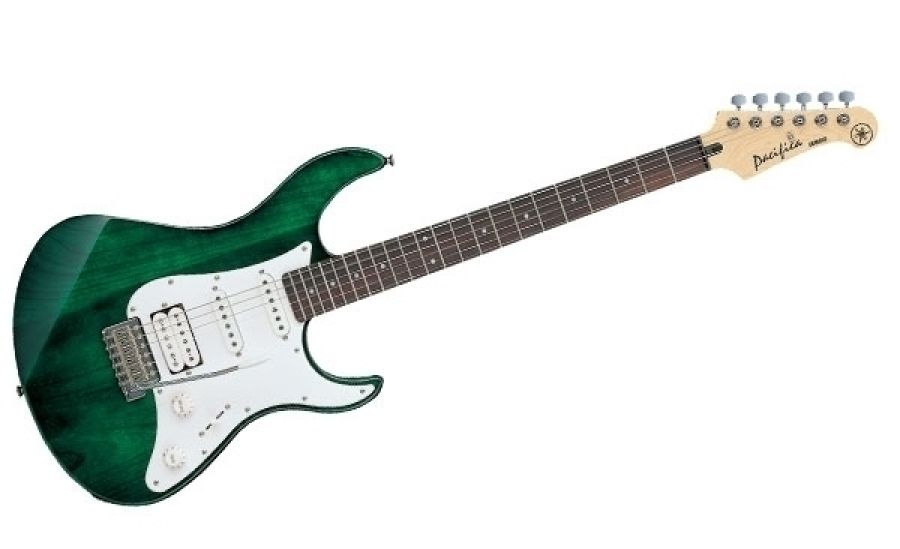 yamaha yamaha pacifica 112 electric guitar in dark green. Black Bedroom Furniture Sets. Home Design Ideas