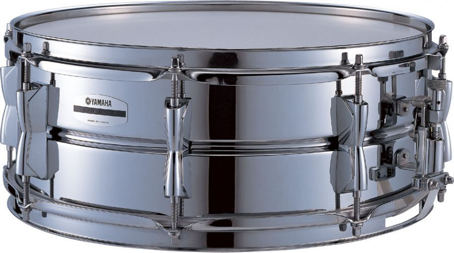 Yamaha sd265a stage custom 14x5 5 inch snare drum steel for Yamaha stage custom steel snare drum 14x6 5