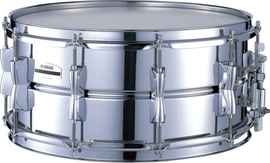Yamaha sd266a 14 x 6 5 steel snare drum yamaha music for Yamaha stage custom steel snare drum 14x6 5