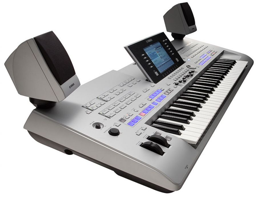 Tyros4 (Tyros 4) Arranger Workstation Keyboard with MS04 speakers