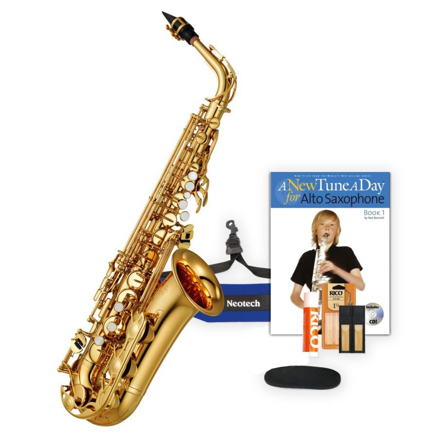 yamaha beginner saxophone pack including yas 280 eb alto. Black Bedroom Furniture Sets. Home Design Ideas