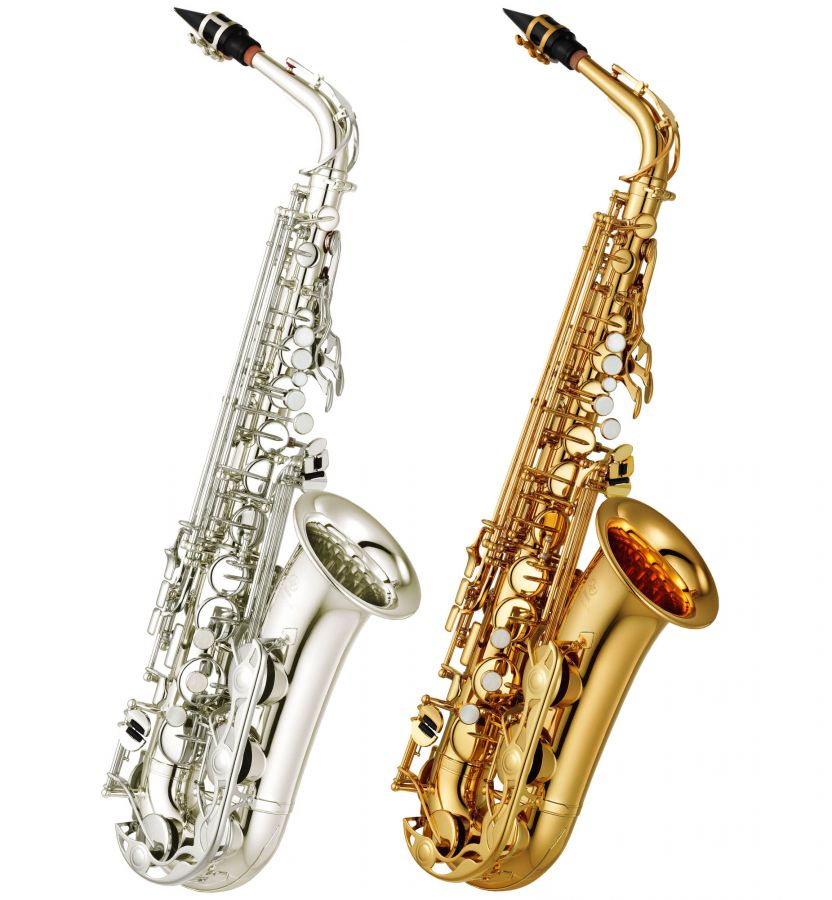 yamaha yas 280 eb alto saxophone student model in gold. Black Bedroom Furniture Sets. Home Design Ideas