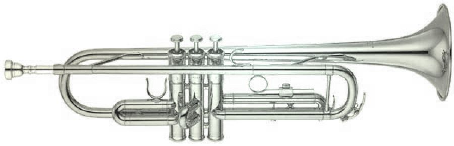 Yamaha YTR-2335 Trumpet in Silver Plated Finish
