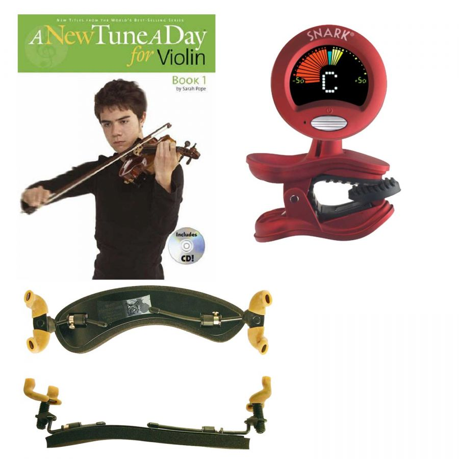 Accessory bundle for 3/4 & full size violins