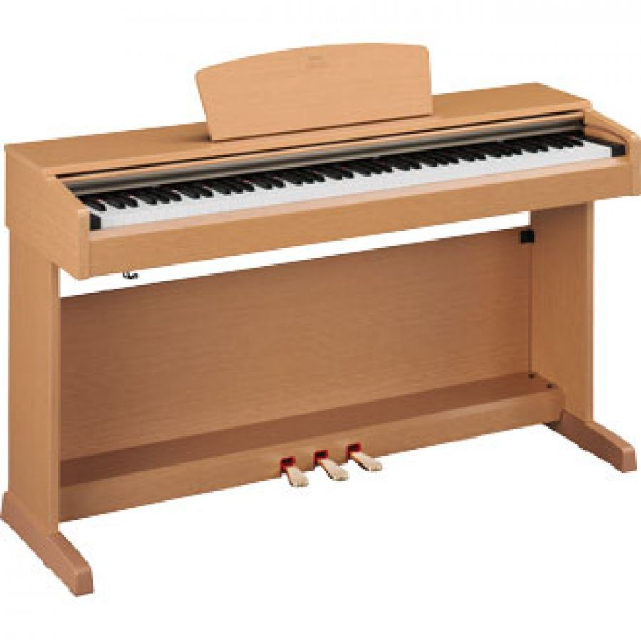 yamaha arius ydp161 digital piano in light cherry finish. Black Bedroom Furniture Sets. Home Design Ideas