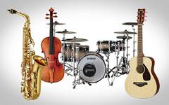 Rich set of instrument voices