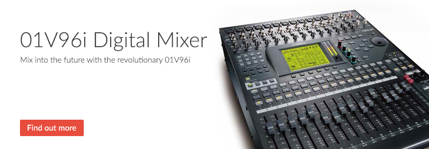01V96i Digital Mixer - Mix into the future