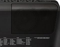 Powerful 12W speakers