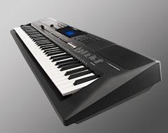 Long 76 note keyboard