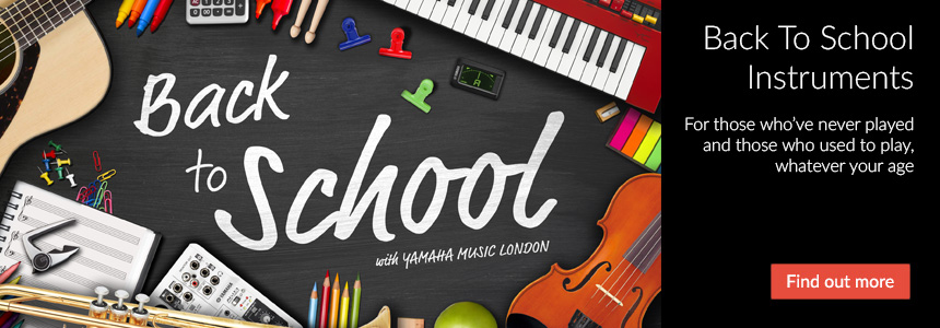 Back to School Instruments: Perfect for those who've never played and those who used to play, whatever your age. Click here to find out more...