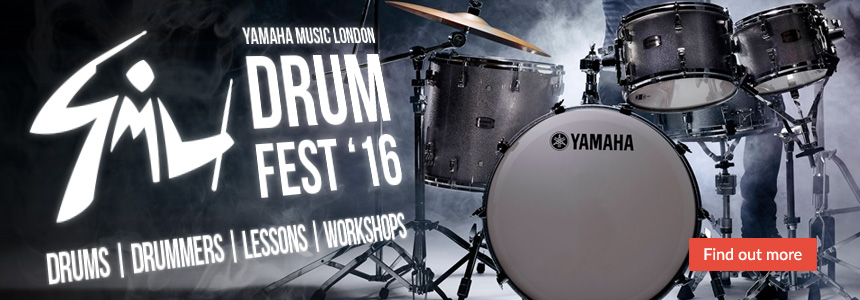 Yamaha Music London Drum Fest '16 - Drums, Drummers, Lessons, Workshops - Click here for more information