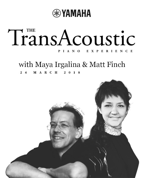 The TransAcoustic Piano Experience - 24th March