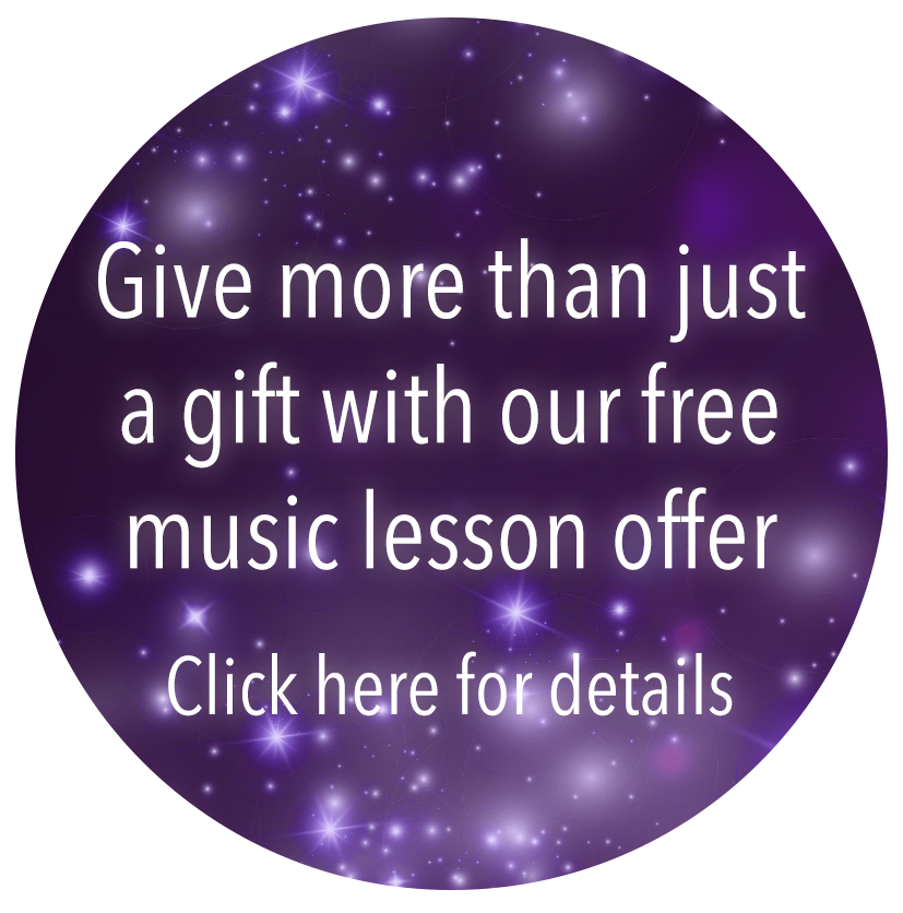 Free Music Lessons when you buy this instruments - terms and conditions apply, click here for details