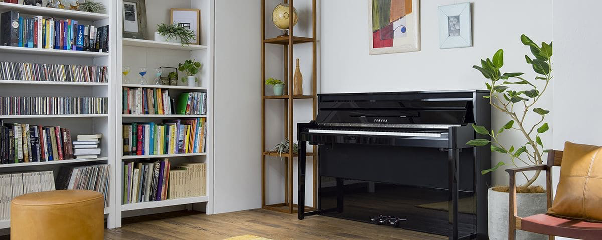 Photo of an AvantGrand NU1X Piano in a domestic room